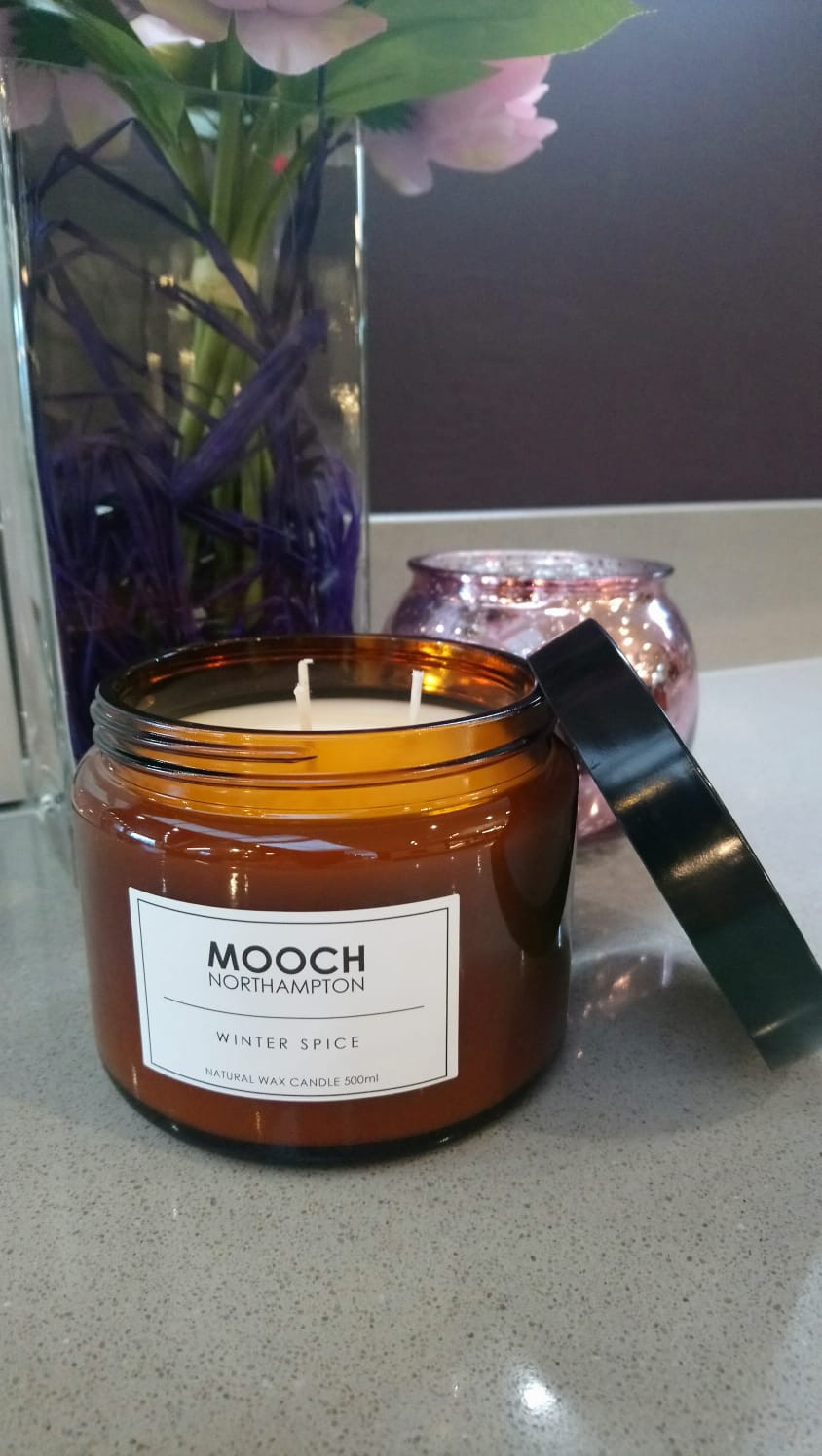 MOOCH 3-WICK CANDLE - WINTER SPICE
