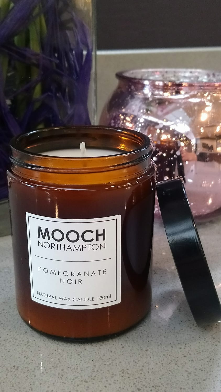 MOOCH CANDLE - POMEGRANATE NOIR