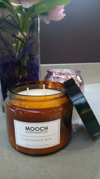 MOOCH 3-WICK CANDLE - POMEGRANATE NOIR