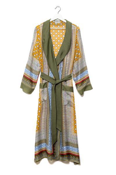 Moorish mustard gown