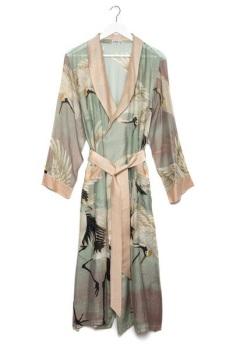 Stork aqua gown