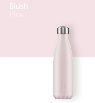 CHILLY'S BOTTLE 500ML - BLUSH PINK