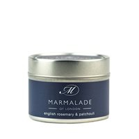 ENGLISH ROSEMARY  & PATCHOULI SMALL TIN CANDLE