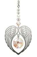 ANGEL WING HEART - AURORA BOREALIS