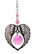 ANGEL WING HEART - ROSE