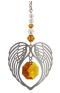 ANGEL WING HEART - TOPAZ