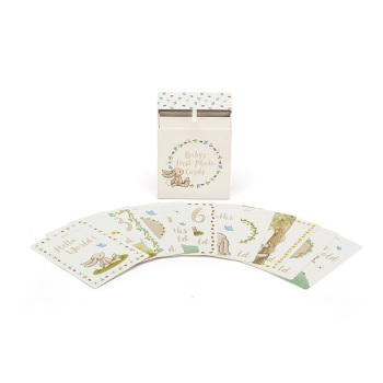 BASHFUL BUNNY BABY MILESTONE CARDS