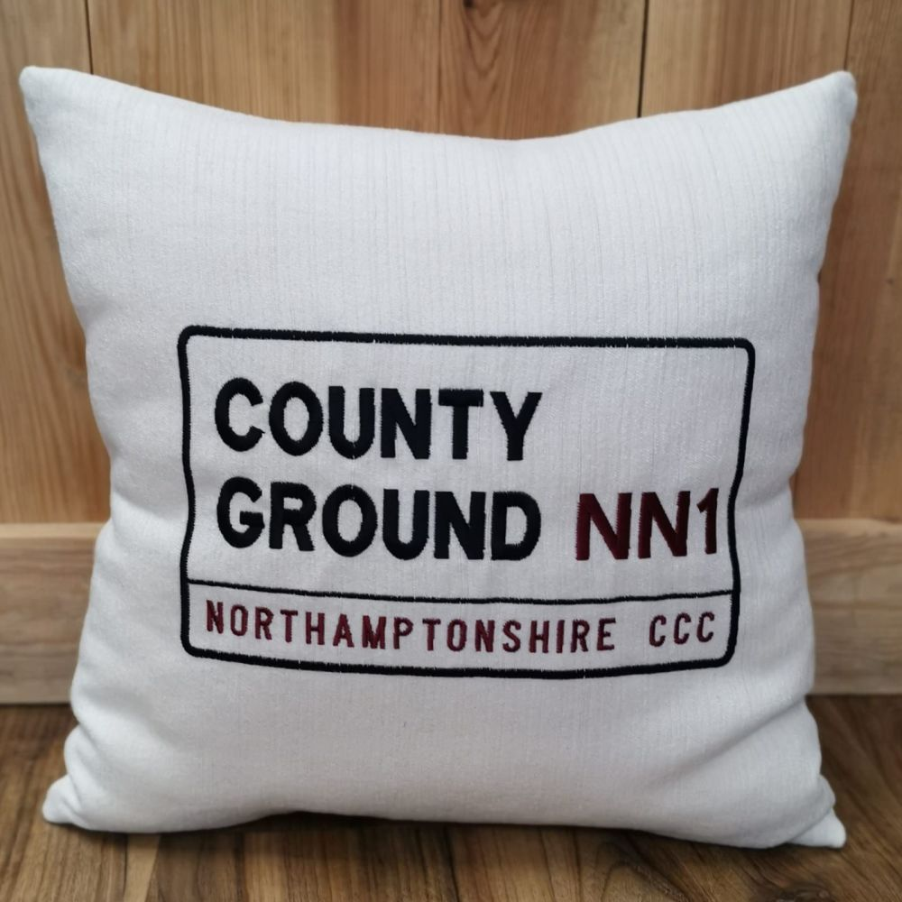 County Ground Cushion