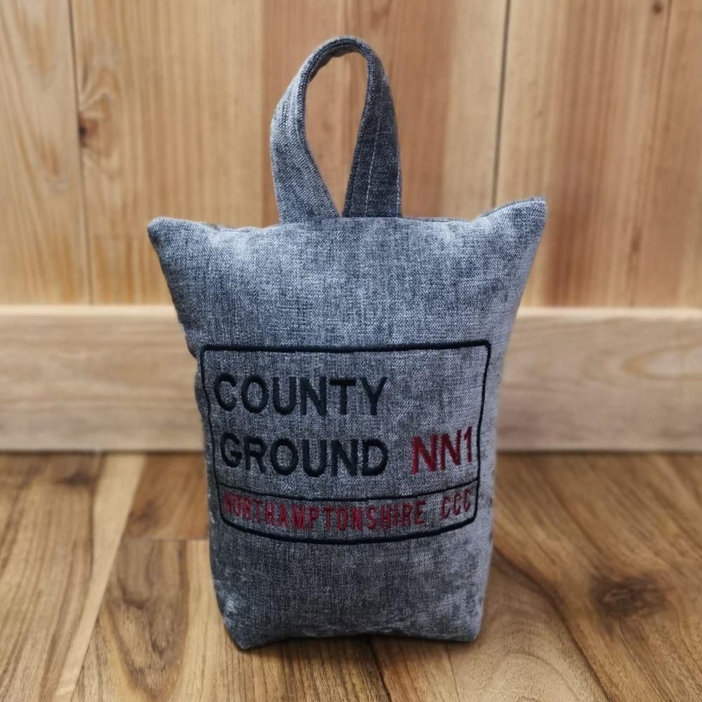 County Ground (Northamptonshire County Cricket) Doorstop