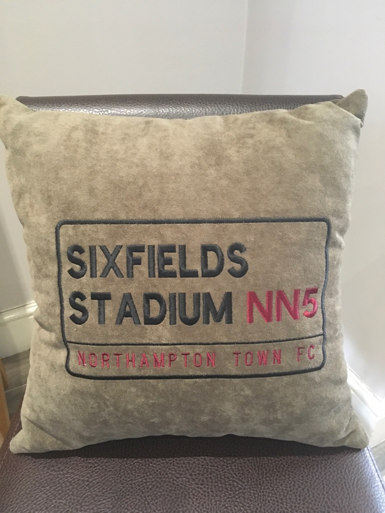 Cobblers (Northampton Town FC) Cushion