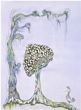 FANTASIA A5 - MOUNTED GICLEE PRINT