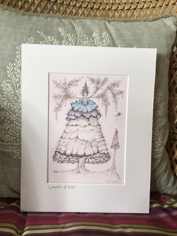 SPRINKLE OF LOVE A5 - MOUNTED GICLEE PRINT