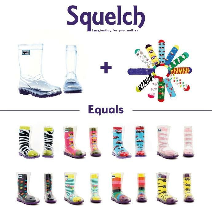 MINI MOOCH - SQUELCH WELLIES