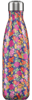 CHILLY'S BOTTLE 500ML - FLORAL WILD ROSE