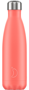 CHILLY'S BOTTLE 500ML - PASTEL CORAL