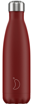 CHILLY'S BOTTLE 500ML - MATTE RED