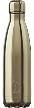CHILLY'S BOTTLE 500ML - [CHROME] GOLD