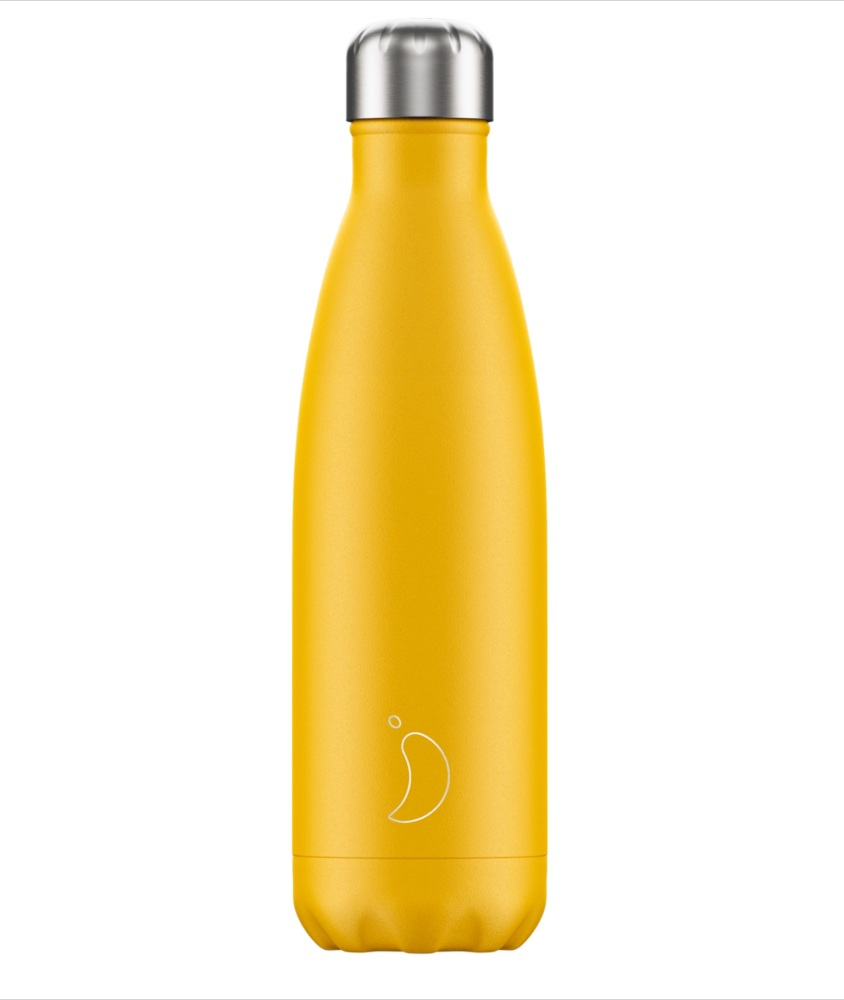 CHILLY'S BOTTLE 500ML - [BURNT) YELLOW