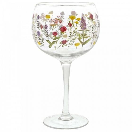 Copa Glass - Wild Flowers