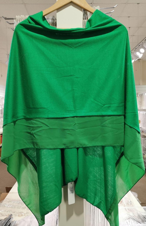 GRANADA GREEN - LIGHTWEIGHT PONCHO