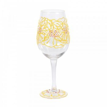 MARIGOLDS WINE GLASS (BOXED)