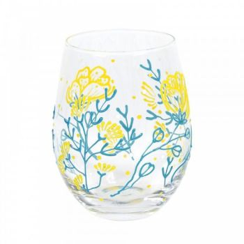 SMALL FLORAL GLASS (BOXED)