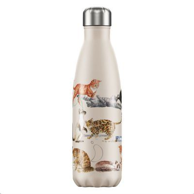 CHILLY'S BOTTLE 500ML - [EMMA BRIDGEWATER] CATS
