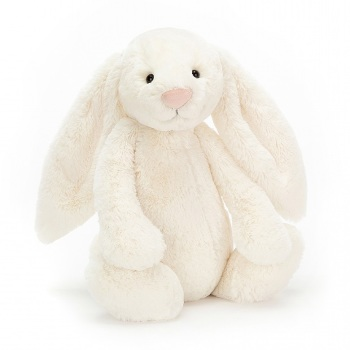 BASHFUL BUNNY CREAM LARGE BAL2BC