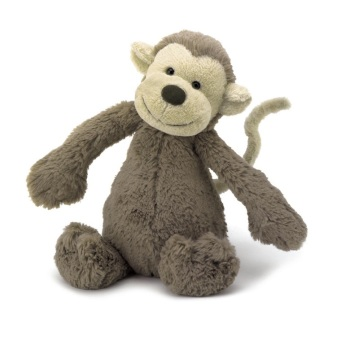 BASHFUL MONKEY MEDIUM BAS3MK