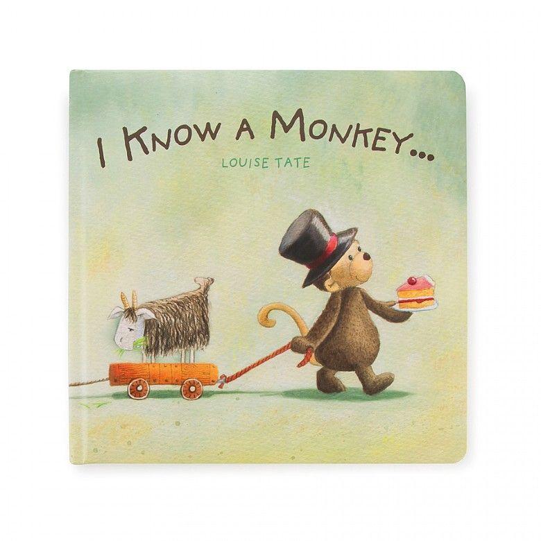 I KNOW A MONKEY BOOK BK4IKM