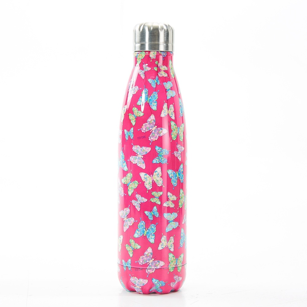 BOTTLE - T04 FUSCHIA BUTTERFLY