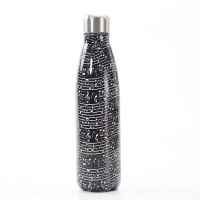 BOTTLE - T10 BLACK MUSICAL NOTES