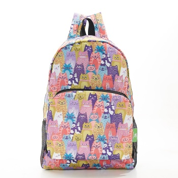 FOLDABLE BACK PACK - B18 MULTIPLE STACKING CATS
