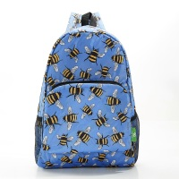 FOLDABLE BACK PACK - B28 BLUE BEES