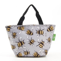 LIGHTWEIGHT LUNCH BAG - C29 GREY BEES