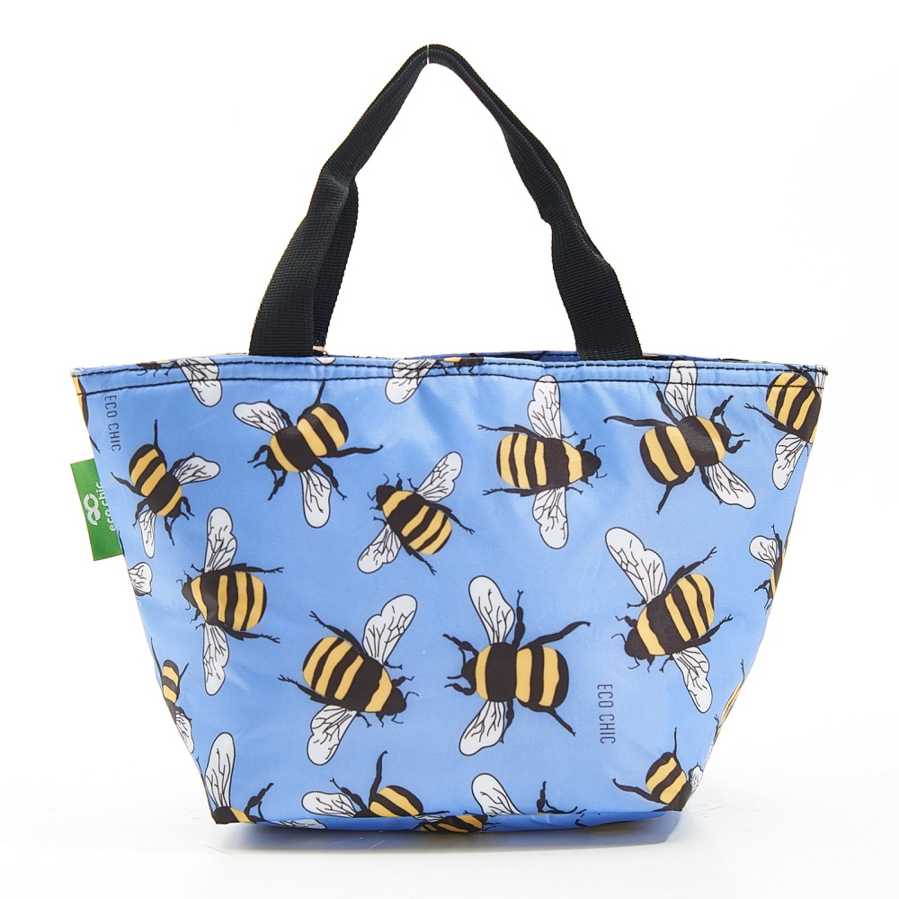 LIGHTWEIGHT LUNCH BAG - C29 BLUE BEES