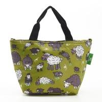 LIGHTWEIGHT LUNCH BAG - C27 GREEN SHEEP