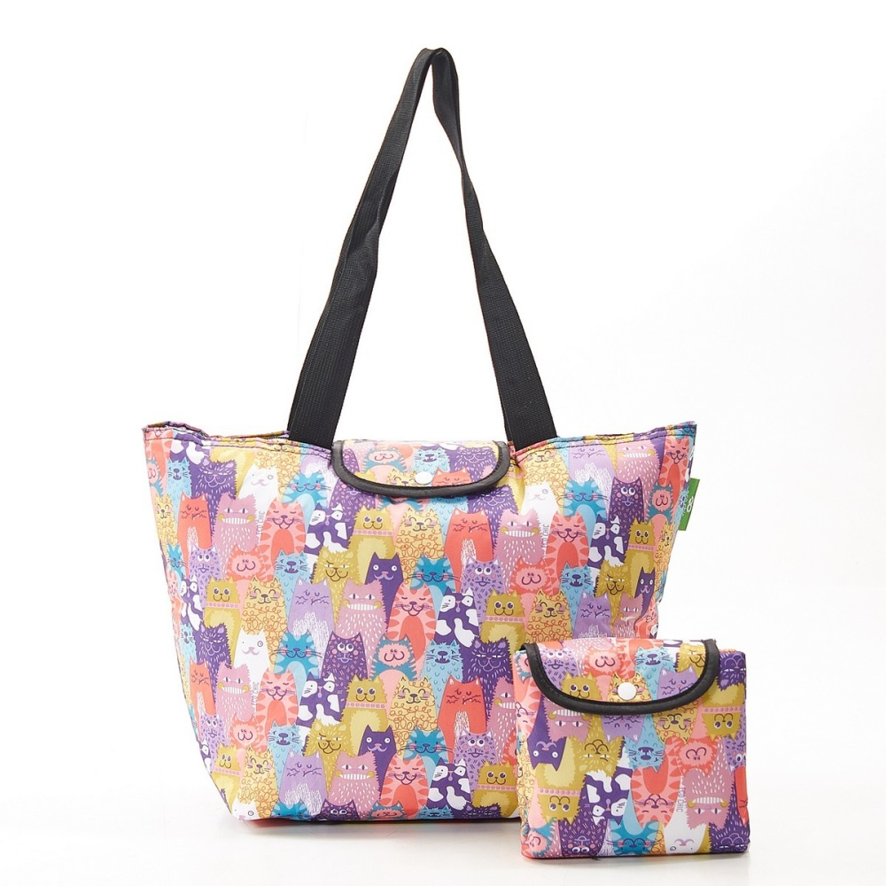FOLDABLE WEEKEND BAG - F10 MULTIPLE STACKING CATS