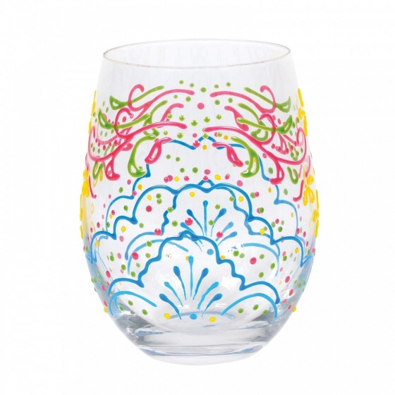 ROSE HENNA GLASS (BOXED)