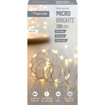 200 MICROBRIGHT LIGHTS WARM WHITE - LB151211WW
