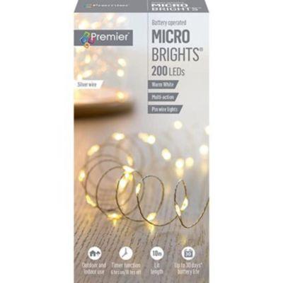 200 MICROBRIGHT LIGHTS WARM WHITE - LB151211WW