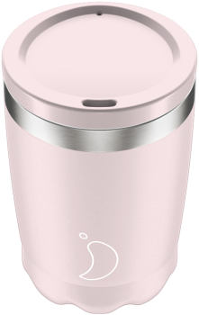 CHILLY'S COFFEE CUP 340ML BLUSH PINK