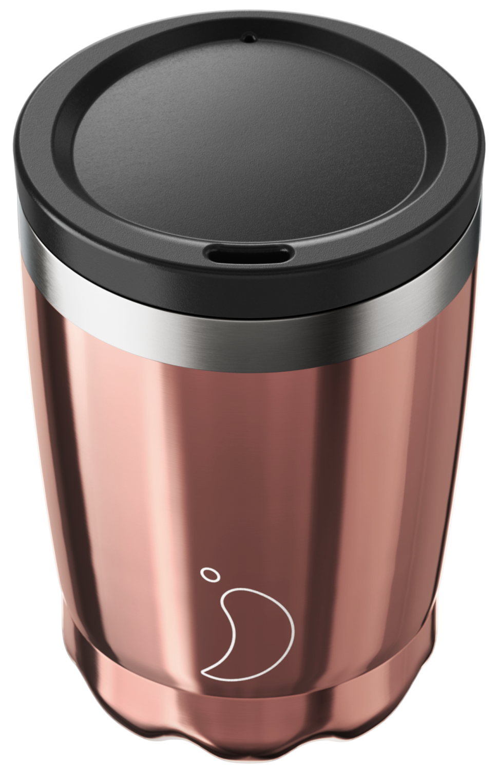 CHILLY'S COFFEE CUP 340ML CHROME ROSE GOLD