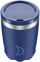 CHILLY'S COFFEE CUP 340ML MATTE BLUE