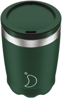 CHILLY'S COFFEE CUP 340ML MATTE GREEN