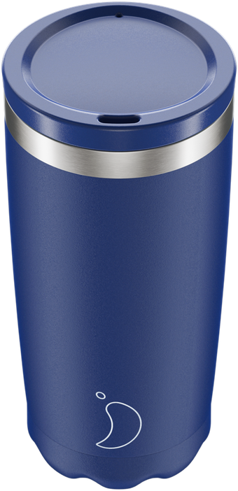CHILLY'S COFFEE CUP 350ML MATTE BLUE