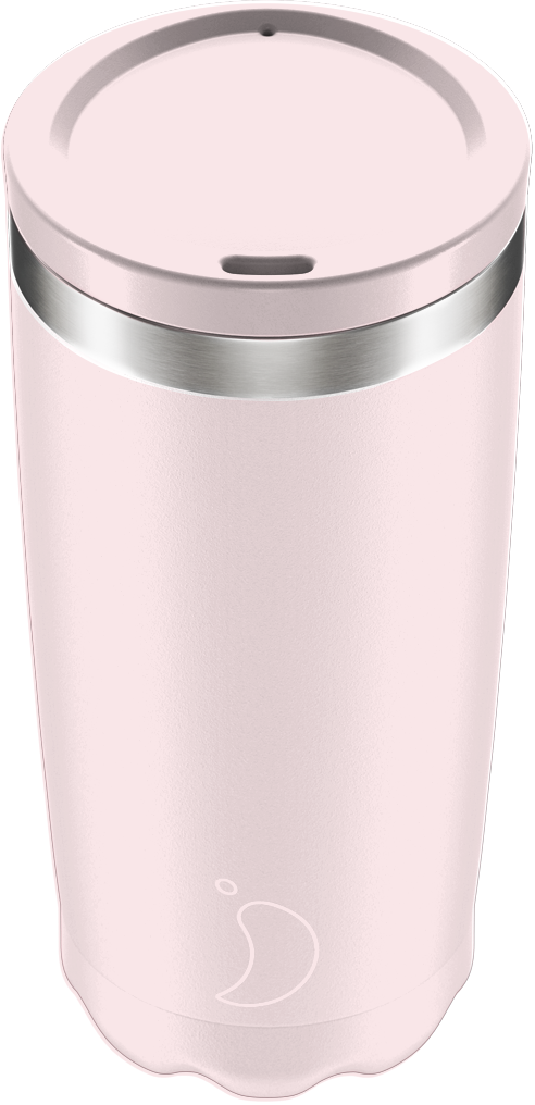 CHILLY'S COFFEE CUP 500ML BLUSH PINK