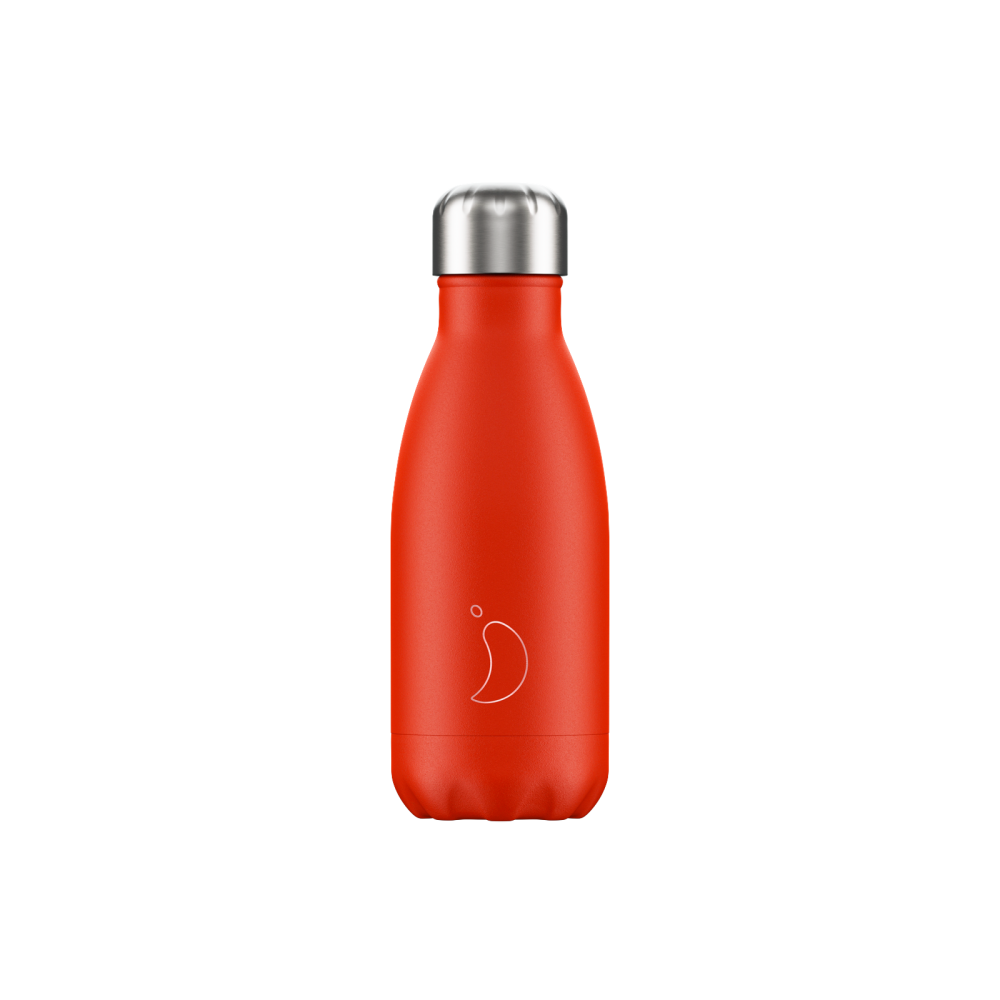 CHILLY'S BOTTLE 260ML - [NEON] RED