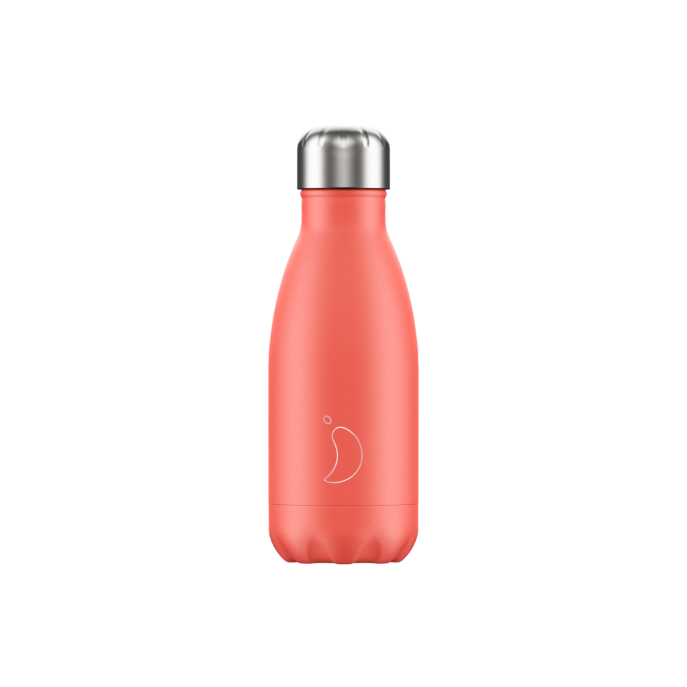 CHILLY'S BOTTLE 260ML - [PASTEL] CORAL