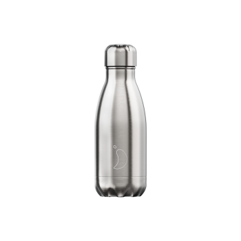 CHILLY'S BOTTLE 260ML - [SS] STAINLESS STEEL